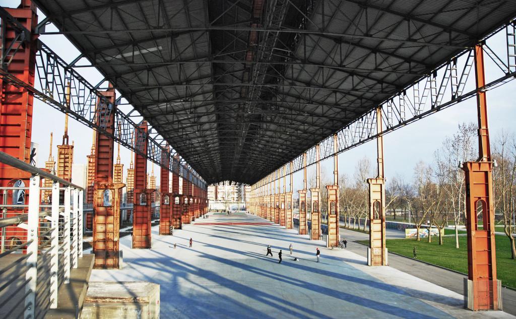 Parco Dora Torino - Area Coperta