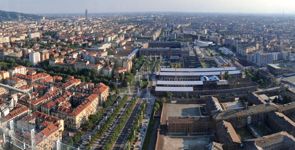 Torino - Panorama da grattacielo Intesa Sanpaolo