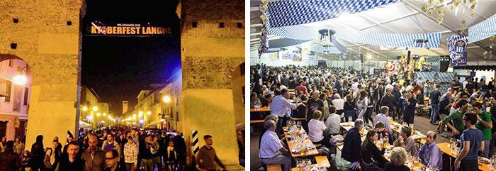 Festa della birra Oktoberfest Langhe a Cherasco 2015 - foto edizione 2014