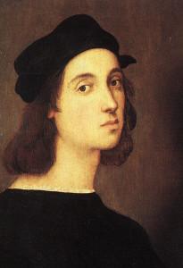 Raffaello in mostra alla reggia di venaria reale Torino