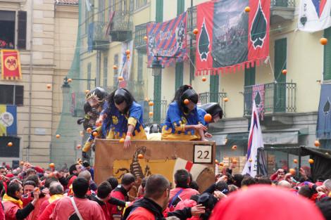 Storico Carnevale di Ivrea: una rassegna fatta di storia e spettacolo