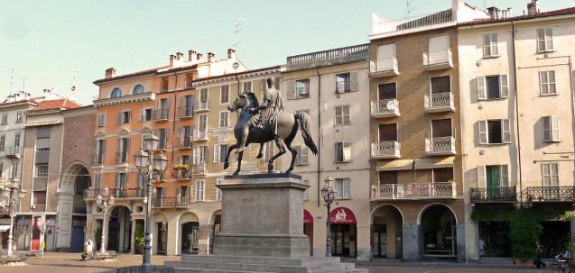 Casale Monferrato piazza Mazzini