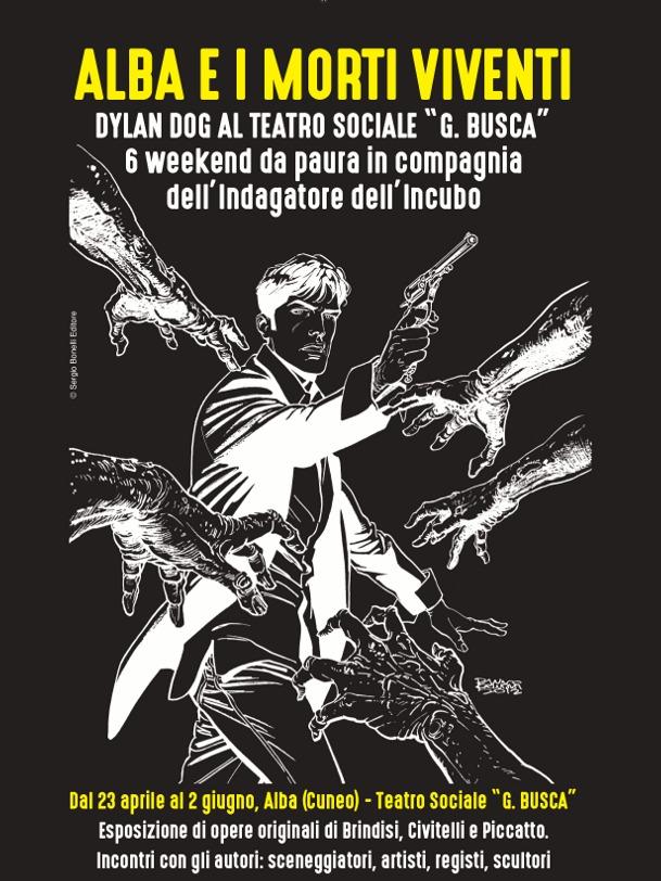 Dylan Dog in mostra al Teatro Sociale di Alba