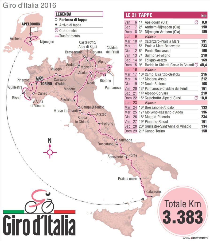 Giro d'Italia 2016 Giro d'Italia 2016 - Fight for pink