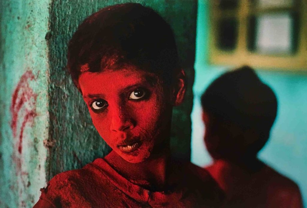 Il mondo di Steve McCurry in mostra a Venaria