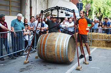 Corsa delle botti a Nizza Monferrato