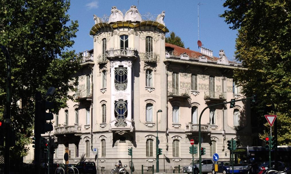Casa Fenoglio-LaFleur, considerata il capolavoro non solo del Liberty torinese