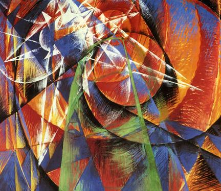 Il pittore giacomo balla in mostra ad alba for Futur balla