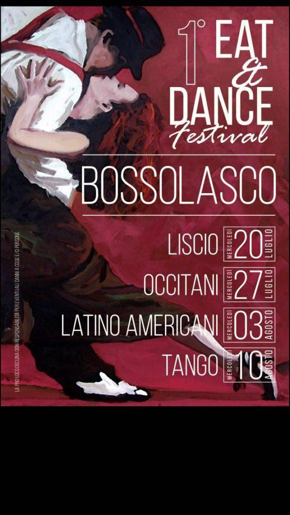 Prima Edizione di Eat&Dance Festival a Bossolasco