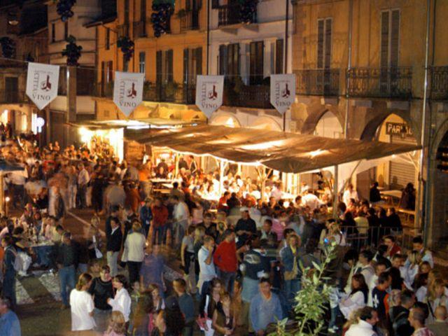 La popolare festa dell'uva a Gattinara