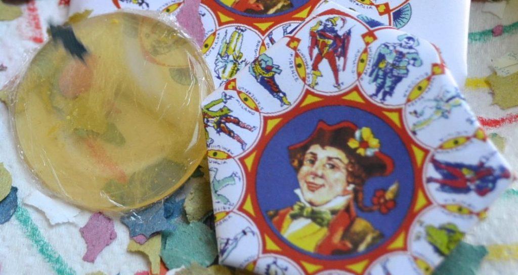 La caramella di Gianduia, dolce tipico dei giorni di Carnevale