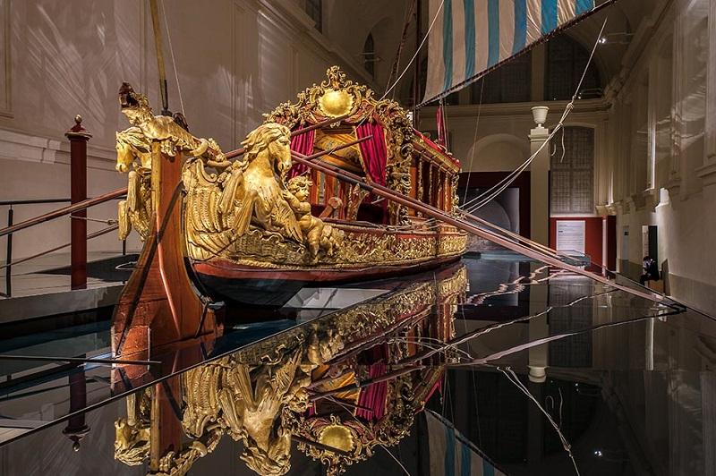 Il Bucintoro voluto da Vittorio Amedeo II: è unico al mondo
