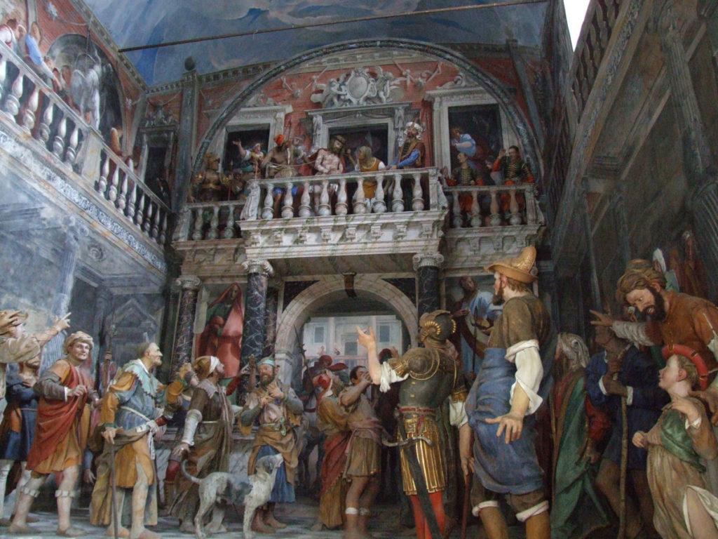 Ecce Homo, una delle cappelle del Sacro Monte di Varallo